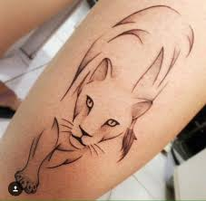 lioness tattoo. Simple Tattoo For Lioness Tattoo E