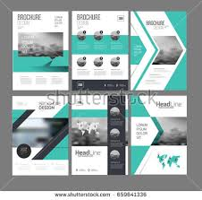 Six Flyer Marketing Templates Photo Text Stock Vector 659641336 ...