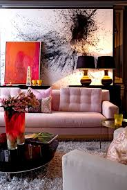 9 Pretty in Pink Rooms for Your Feminine Side. Black Living ...