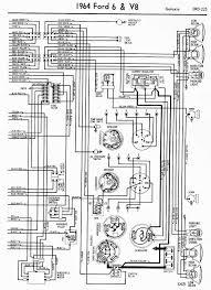 1964 v8 galaxie and 6 wiring diagrams part 2 circuit diagram world rh circuitdiagramworld com wiring diagram for 1964 ford thunderbird 1964 ford f100 wiring