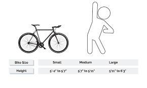 Fixed Bike Size Chart Big Shot Bikes Custom Bike Shop In Denver Colorado Bike