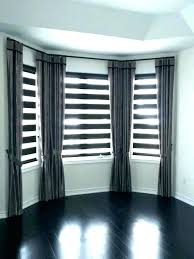 bay window master bedroom treatments ideas treatment curtains decorating gorgeous