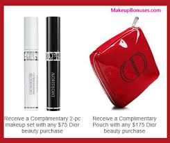 receive a free 3 pc gift with your 175 dior beauty purchase
