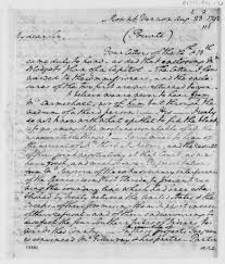 history the thomas jefferson papers at the library of congress  george washington to thomas jefferson 23 1792