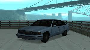 Low Poly garage: 1991 Chevrolet Caprice for GTA San Andreas