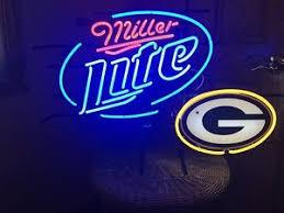 Miller Lite Packers Neon Sign 671483