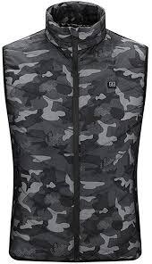 Wuzhengzhijia Fashionable Winter Camouflage Vest, <b>Smart Heating</b> ...