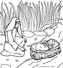 Bible Coloring Pages Free School Printable Thru The Biblical Easter