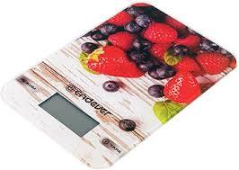 <b>Кухонные весы Endever Chief</b>-<b>508</b>, рисунок Клубника купить в ...