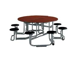 round school lunch table. Ki Round Cafeteria Tables With Stool Seating School Lunch Table T