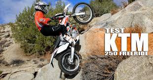 2015 ktm freeride 250r dirt bike test