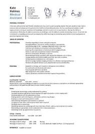 student entry level medical assistant resume template sample of a medical assistant resume