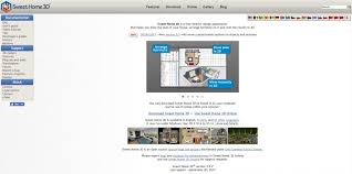 website to arrange furniture. Screenshot Of SweetHome3d Website To Arrange Furniture O