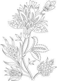 Flower Coloring Pages For Adults Bestofcoloringcom