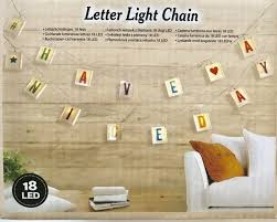 Top Honderd Letter Party Licht Slinger Kleur 18 Led Lightbox