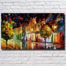 ba oil painting palette knife modern abstract landscape canvas oil painting wall art living room wall
