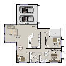 bedroom house plans no garage   house Ideas  amp  Designs bedroom house plans no garage