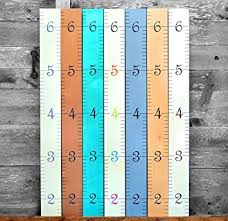 Wooden Growth Chart For Girls