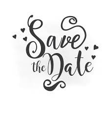 Save The Date Svg Clipart Wedding Annuncment Save The Date Etsy