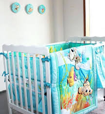 under the sea crib bedding new embroidered ocean animals baby crib bedding set for boy baby