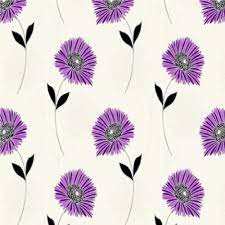 Metallic Floral Wallpaper ...