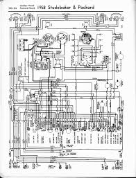 studebaker wiring diagrams the old car manual project 1958 studebaker packard golden hawk packard hawk