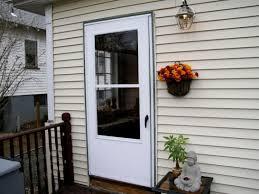 aluminum security screen door. Security Storm Doors Custom Residential Steel Aluminum Screen Door
