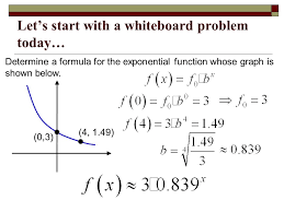 equation of exponential function jennarocca