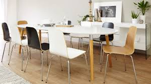 dining table 10 chairs. 10 seater extending white and oak dining set table chairs r