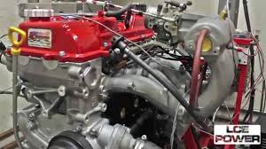 MILD LC Engineering 3RZ on Dyno - YouTube