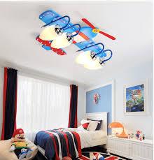 led airplane lamp boy room lighting
