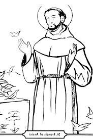 St Francis Coloring Page St Of Coloring Page St Of Coloring Page St