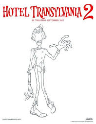 hotel transylvania view photos new of coloring pages dennis photograph