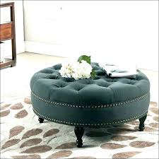 round leather ottoman coffee table. Creative Small Leather Ottoman Gray Grey Coffee Table . Round