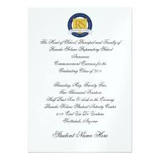 Formal Graduation Announcement Formal Graduation Invitations You Get Ideas From This Site