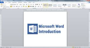 Microsoft Word Introduction What Is Microsoft Word Klient Solutech