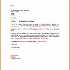 letter of non objection noc letter format to landlord save non objection letter