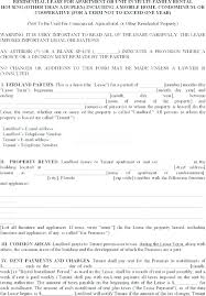 simple rental agreement florida simple rental agreement form free download residential lease