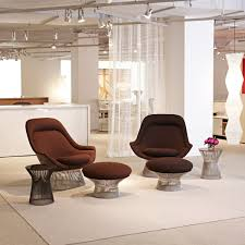 platner furniture. Knoll - Easy Chair And Ottoman Platner Furniture