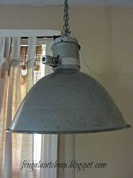 cheap vintage lighting. Frugal Ain\u0027t Cheap: Vintage Industrial Light Repurposed Cheap Lighting