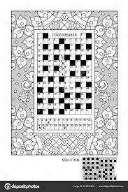 Puzzel Activiteitenpagina Kleurplaten Voor Volwassenen Met