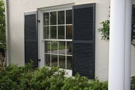 charming outdoor window shutters
