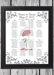Beauty And The Beast Themed Wedding Seating Chart Sit Back