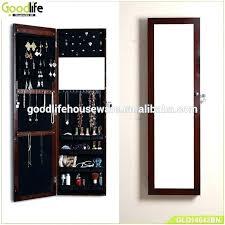 over the door mirrored jewelry armoire hang mirror on door mirror work door hangings mirror work
