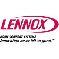 lennox logo. logo of lennox x