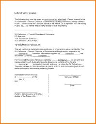 notarized letter document template of notarized letter insssrenterprisesco notary