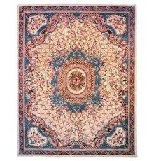 hand tufted wool red area rug contemporary rugs round 8 x