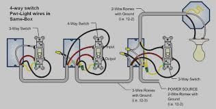 How To Wire A 2 Way Light Switch 2 Way Switch Wiring Pdf Wiring A Two Way Light Switch With