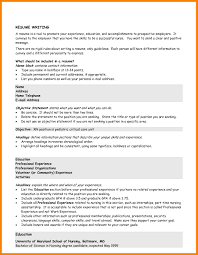 10 Resume Objective Statements Happy Tots