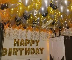 birthday decoration for husband